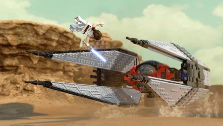 Масштабы впечатляют: в сети появился новый трейлер игры LEGO Star Wars: The Skywalker Saga