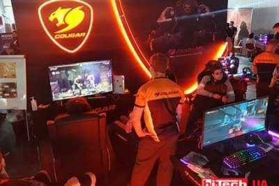 Новинки игровой периферии от Bloody и Cougar на выставке WeGame 6.0 в Киеве